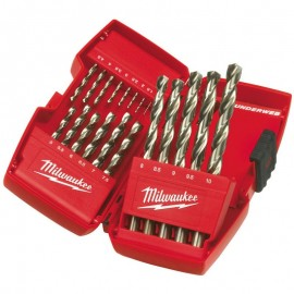 Milwaukee Metal Drill Bit HSSG 19pcs set P19M