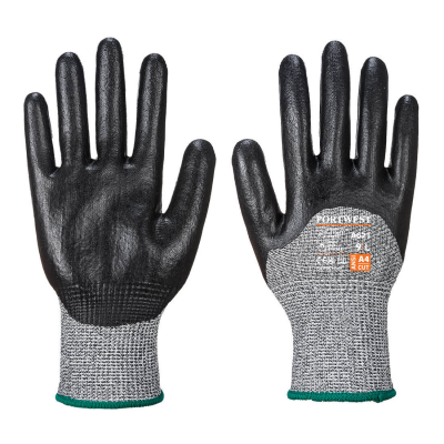 Cut 3/4 Nitrile Foam Glove