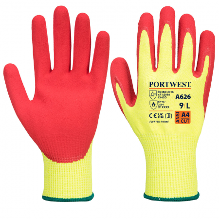 Vis-Tex HR Cut Glove - Nitrile