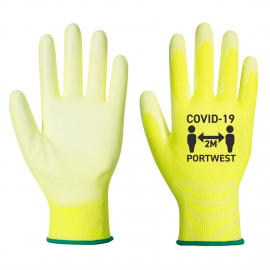 Covid PU Palm Glove