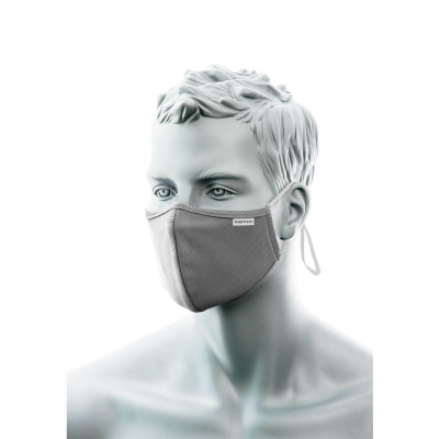 3-Ply Anti-Microbial Fabric Face Mask with Nose Band (Pk25)