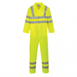 Hi-Vis Poly-cotton Coverall
