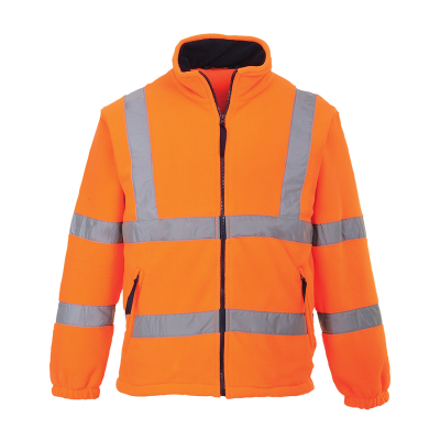 Hi-Vis Mesh Lined Fleece