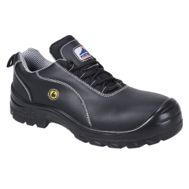 Portwest Compositelite ESD Leather Safety Shoe S1
