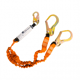 Double 140kg Lanyard with Shock Absorber