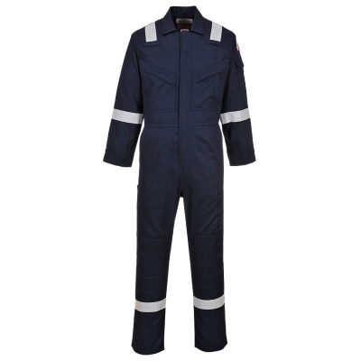 Flame Resistant Light Weight Anti-Static Coverall 280g