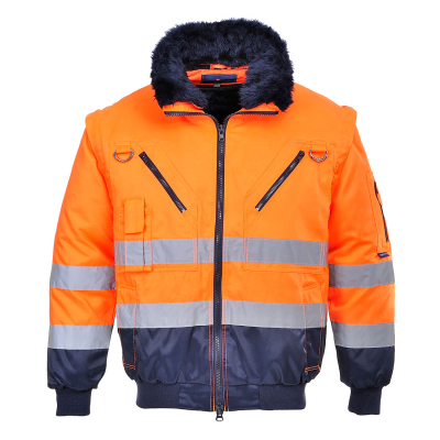 Hi-Vis 3-in-1 Pilot Jacket