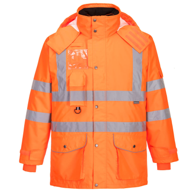 Hi-Vis 7-in-1 Traffic Jacket RIS