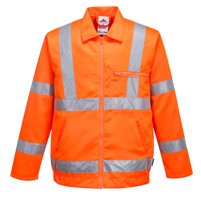 Hi-Vis Poly-cotton Jacket RIS