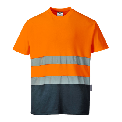 Two Tone Cotton Comfort T-Shirt