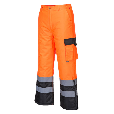 Hi-Vis Contrast Trousers - Lined