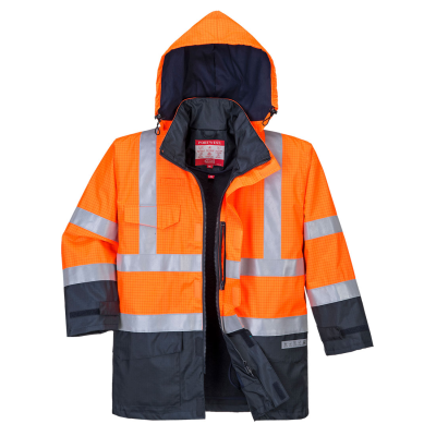 Bizflame Rain Hi-Vis Multi-Protection Jacket