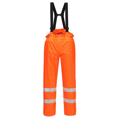 Bizflame Rain Unlined - Hi-Vis Antistatic FR Trouser