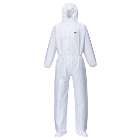 BizTex Microporous Coverall with Boot Covers Type 5/6