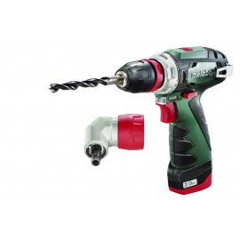 METABO POWERMAXX BS QUICK 10.8vDrill driver - 10mm keyless chuck 2 x Li-ion batteries and charger: 1 x 4.0Ah & 1 x Variable / reversing Max torque: 5Nm Carry case