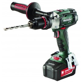 METABO SB18LTX IMPULS 18vCombi drill - 13mm keyless chuck 2 x 5.2Ah Li-ion batteries and charger 2 - speed / variable / reversing Max torque: 110Nm Carry case