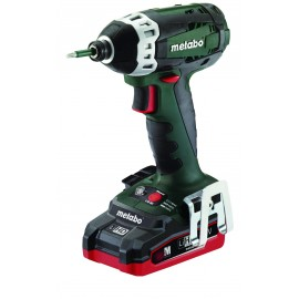 "METABO SSD18LTX200 18vImpact driver - 1/4"" hex drive 2 x 3.1Ah LiHD batteries 3 - speed / variable / reversing Max torque: 150Nm Carry case"