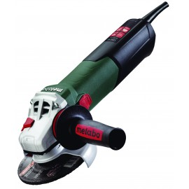 "METABO WE15-125 QUICK 110vAngle grinder - 5"" (125mm) 1550 Watt Single speed Spindle lock"