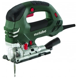 METABO STEB 140 PLUS 240vJigsaw - top handle 750 Watt Variable speed Depth of cut: 140mm Job light Carry case