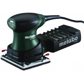 METABO FSR200 INTEC 240vPalm sander - quarter sheet 200 Watt Single speed Carry case