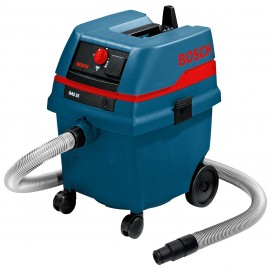 BOSCH GAS 25L SFC 110vL class dust extractor 1200 Watt Single speed Capacity: 25 litres dry / 16 litres wet