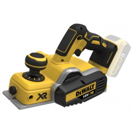 DEWALT DCP580N 18vPlaner - 82mm blade width Body only - No battery, charger or case Single speed Depth of cut: 0 - 2mm Brushless motor