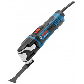 BOSCH GOP 55-36 L-BOXX 240vMulti function tool 550 Watt Variable speed Comes with 25 accessories L-Boxx 136 case