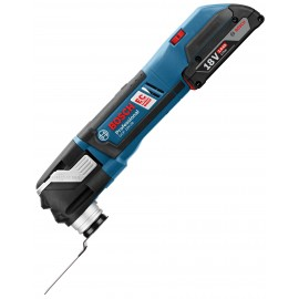 BOSCH GOP 18 V-28 (2X2ah) 18vMulti function tool 2 x 2.0Ah Li-ion batteries and charger Variable speed Comes with 16 accessories L-Boxx 136 case