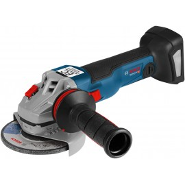 "BOSCH GWS 18 V-115 C BODY 18vAngle grinder - 4.1/2"" (115mm) Body only - No battery, charger or case Single speed Side handle Anti vibration"