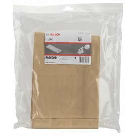 BOSCH 2.607.432.035 (Pkt of 5)GAS 35 Paper filter bags Suitable for GAS 35 Professional dust extractors
