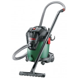 BOSCH GREEN ADVANCED VAC 20 240vDust extractor 1200 Watt Capacity: 27 litres Wet/dry pick up using the same filter Weight: 7.6kg