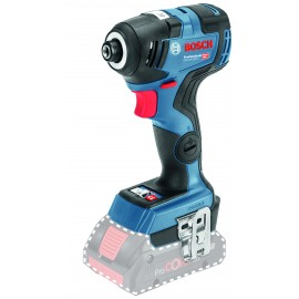 """BOSCH GDR 18 V-200 BODY 18vImpact driver - 1/4"""" hex drive Body only - No battery, charger or case 3 - speed / variable / reversing Max torque: 200Nm Brushless motor"""