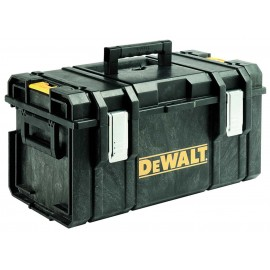 DEWALT DS300N Stacking case 550x336x310mm Tote tray not included Part of the TOUGHSYSTEM range