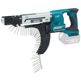 MAKITA DFR750Z 18vAutofeed screwdriver - 5mm hex drive Body only - No battery, charger or case Reversing Max screw length: 75mm