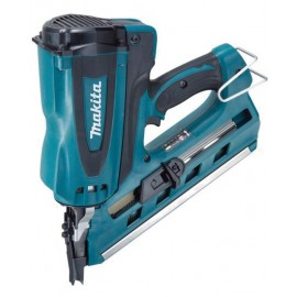 MAKITA GN900SE GasFirst fix nailer 2 x 1.0Ah Li-ion batteries and charger Single speed Nail size: 50 - 90mm Anti dry fire Depth control