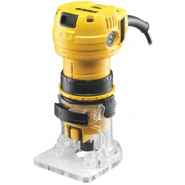"DEWALT DWE6005 110vRouter / Trimmer - 1/4"" collet 590 Watt Variable speed"