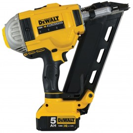 DEWALT DCN692P2 18vFirst fix nailer 2 x 5.0Ah Li-ion batteries and charger 2 - speed Nail size: 50 - 90mm Brushless motor Battery level and stall indicator Tough system case