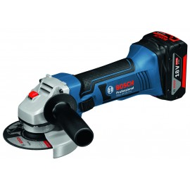 "BOSCH GWS 18-125 V-LI 18vAngle grinder - 5"" (125mm) Bosch End User Promo - Eligibility Criteria Here 2 x 5.0Ah Li-ion batteries and charger Single speed Side handle L-Boxx 136 case"