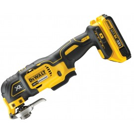 DEWALT DCS355M2 18vMulti function tool 2 x 4.0Ah Li-ion batteries and charger Variable speed Quick change accessory system Comes with 35 accessories Brushless motor T-Stak DWST1-70703 case