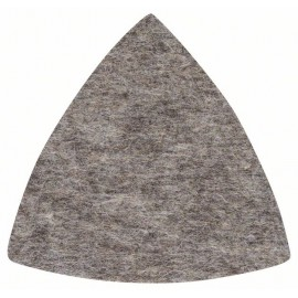 BOSCH 2.608.613.016 Polishing felt (triangle) - 93mm