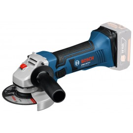 "BOSCH GWS 18 VLI BODY CTN 18vAngle grinder - 4.1/2"" (115mm) Body only - No battery, charger or case Single speed Side handle"
