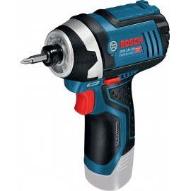 """BOSCH GDR 12V-105 BODY 12vImpact driver - 1/4"""" hex drive Body only - No battery, charger or case Variable speed"""