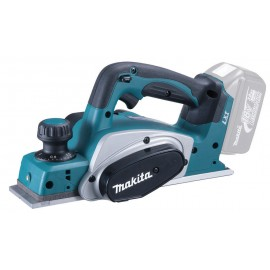 MAKITA DKP180Z 18vPlaner - 82mm blade width Body only - No battery, charger or case Single speed Depth of cut: 0 - 2mm