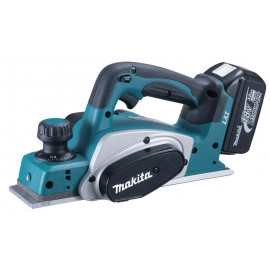 MAKITA DKP180RMJ 18vPlaner - 82mm blade width 2 x 4.0Ah Li-ion batteries and charger Single speed Depth of cut: 0 - 2mm MakPac type 3 case