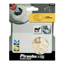 BLACK & DECKER X32122 Lambs wool bonnet - 125mm