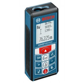 BOSCH GLM 80 Integral batteryLaser range finder 1 x 3.7Ah Li-ion battery and charger Range: 80m