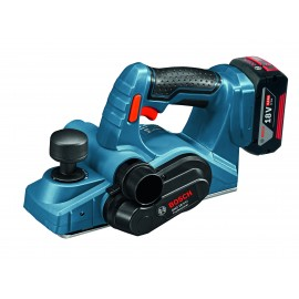 BOSCH GHO 18 V-LI 18vPlaner - 82mm blade width Bosch End User Promo - Eligibility Criteria Here 2 x 5.0Ah Li-ion batteries and charger Single speed L-Boxx 238 case