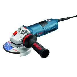 "BOSCH GWS 12-125 CI 110vAngle grinder - 5"" (125mm) 1200 Watt Single speed Spindle lock Anti vibration Carry case"