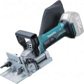 MAKITA DPJ180Z 18vBiscuit jointer Body only - No battery, charger or case Single speed Hole diameter: 22mm