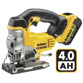 DEWALT DCS331M2 18vJigsaw - top handle 2 x 4.0Ah Li-ion batteries and charger Variable speed Depth of cut: 135mm Carry case